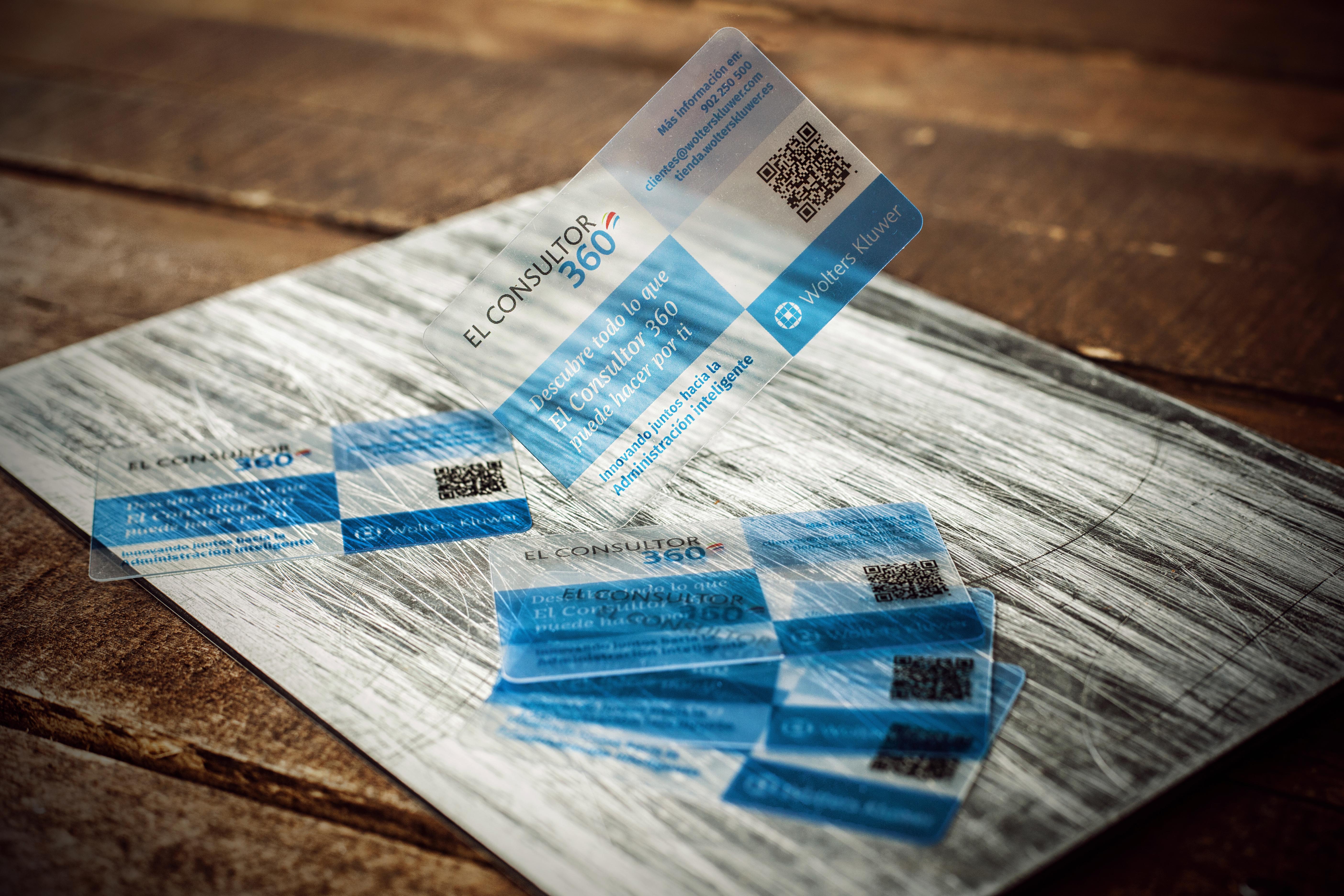 tarjetas plasticas fabricada a empresa El_Consultor