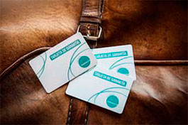 tarjeta de garantia danavox
