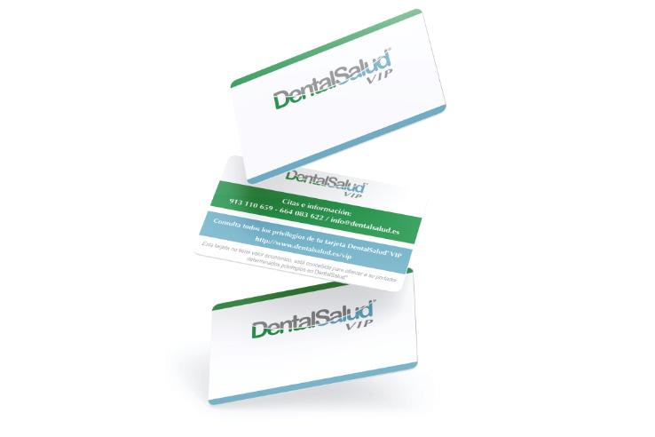 Tarjeta de visita para clínica dental
