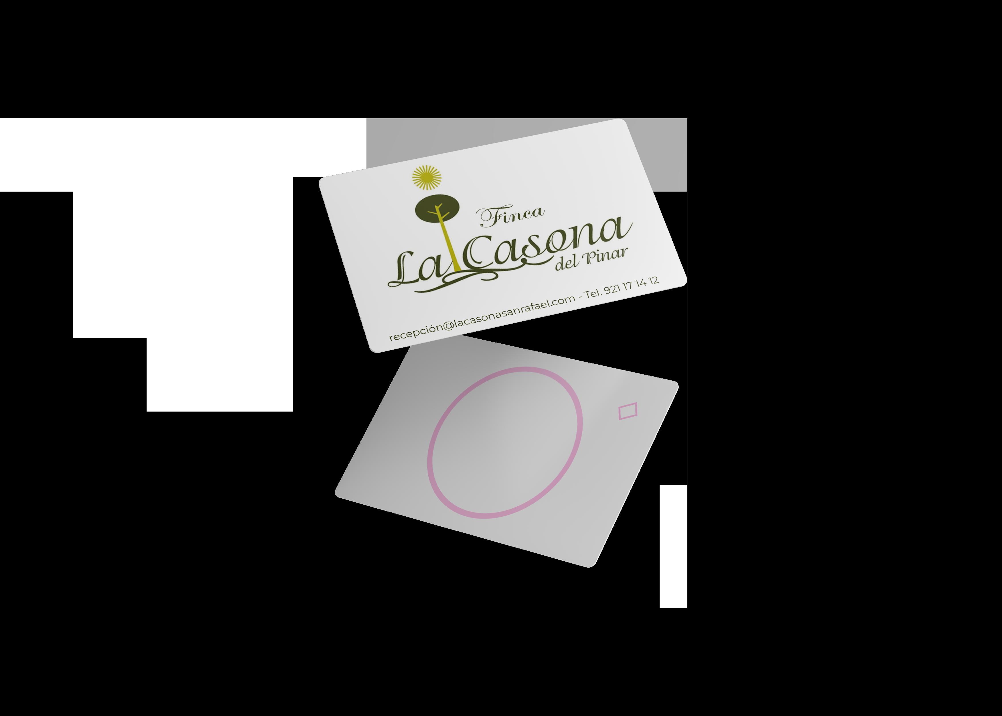 Tarjeta RFID para cliente La Casona